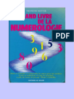 Grand Livre de La Numerologie-F.notter
