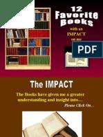 12 Favorite Books