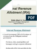 Internal Revenue Allotment-ALBERT