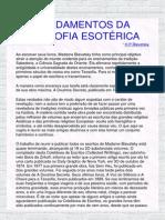 Fundamentos Da Filosofia Esoterica_blavatsky