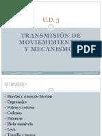 3.Transmisin de Movimiento y Mecanismos