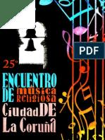 FOLLETO 2 M RELIG - 2014 - Conferencias - Organo