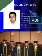 SUB ACUTE BACTERIAL ENDOCARDITIS BY DR BASHIR AHMED DAR ASSOCIATE PROFESSOR MEDICINE SOPORE KASHMIR
