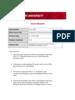 Course Blueprint(4)