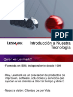 2014 Presentación Lexmark y Soluciones Generic