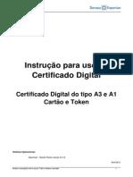 Instrução para o uso de certificados no Firefox para MAC