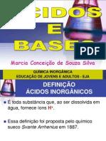 Acidos e Bases Eja