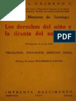 Los derechos del niño y la tiranía del ambiente (Divulgación de la Ley 4447). 1929