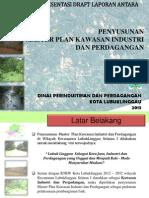 Presentasi Draft Kawasan Industri