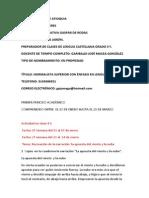 temas abordados de lengua castellana en los grados terceros