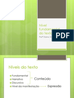 Nível fundamental do texto