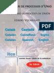 Vocabulari de processos d'Unió (3a Edició)