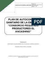Plan de Autocontrol Sanitario-Ancos
