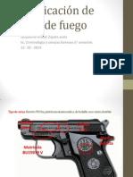 Identificación de armas de fuego