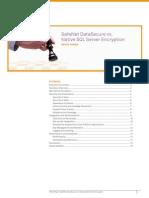 Safenet Datasecure vs Native SQL Server Encryption