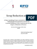 Scrap Reduction EFD MQP