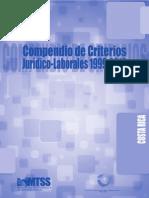 Compendio de Criterios Jurídico-Laborales 1999-2010