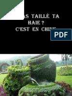 Gartenkunst Chine