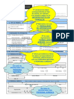 1.2. Ejemplo de llenado de Formulario Único de Edificación - FUE