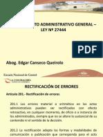 Clase 7 (Curso Procedimiento Administrativo General)