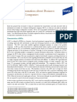 Important Information Business Development Companies