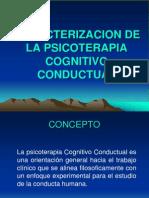 Caracterizacion de La Psicoterapia c. c
