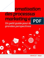 L'automatisation des processus marketing en bref