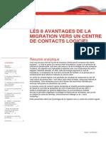 Les 8 Avantages de La Migration Vers Un Centre de Contacts Logiciel