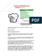 Manual de Procedimiento Para CocinaPrimera Parte