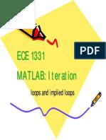 MATLAB Iteration