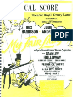 My Fair Lady - Score