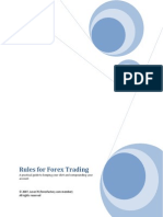 Rules for Forex Trading
