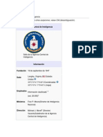 CIA y La Guerra Contra El Terrorismo