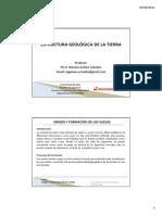 Tema 1 Estructura Geologica de La Tierra y Escala de Tiempo