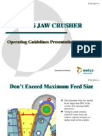 C Jaw - Operating Guidelines 2004