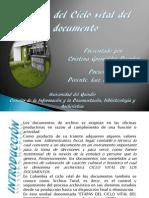 Etapas Del Ciclo Vital Del Documento