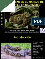 4. Experiencias Manejo de Serpientes en Cautiverio - Walter Silva