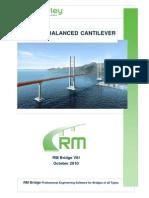 RM E Balanced Cantilever AASHTO