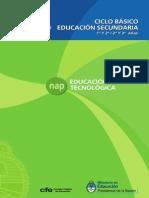 8.NAP Secundaria EdTecnologica 2011