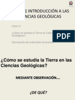 Clase 3 Introduccion Ciencias Geologicas 2012