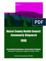 community diagnosis of the unicoi