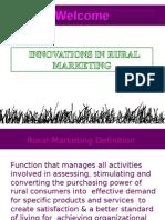 Innovations in Rural Marketing Final