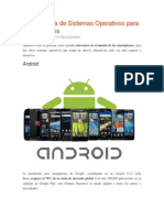 Comparativa de Sistemas Operativos Para Smartphones