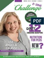 PCOS Challenge E-Zine March 2014