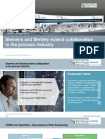 Bentley Siemens Comos Presentation