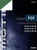 Yamaha Motif Manual