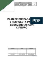 Plan de Preparación y Respuesta a Emergencias con Cianuro 2014