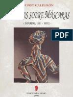 Máscaras sobre máscaras (Diarios, 1991-1992)