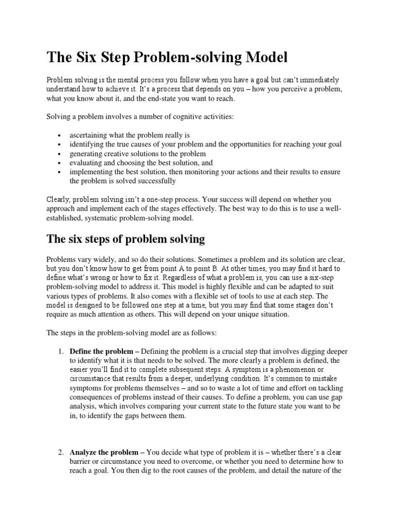 NT(2) the Six Step Problem | Causality | Epistemology