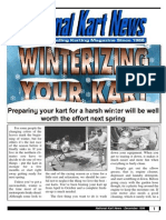 Winterizing Your Kart